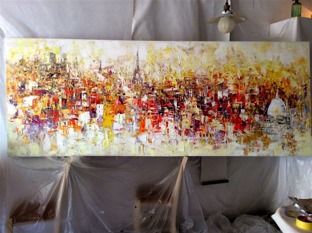 painting-paris-scene-studio