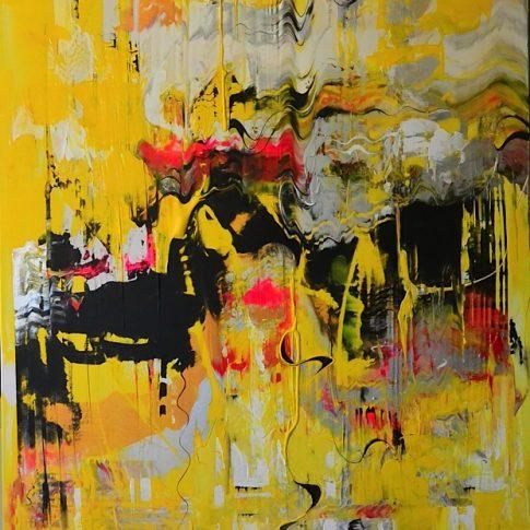 REBIRTH 91 x 150 cm