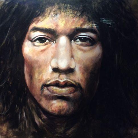 JIMI Hendrix 120 x 150 cm