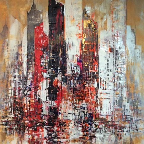 NEW YORK 120 x 150 cm